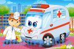 Gyerek puzzle - Castorland mini 54 darabos puzzle mentős