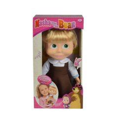 Játékbabák - Műanyag-babák - Masha éneklő baba 30 cm