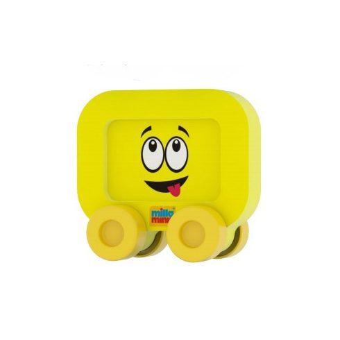 Bébi játék Milla Minis My First Car sárga négyzet