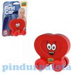 Bébi játék Milla Minis My First Car Piros szív alakú kisautó