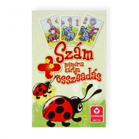 Memória kártyák - Összeadás oktató memória kártyajáték - Cartamundi