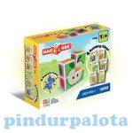 Építőjátékok gyerekeknek - Magic Cube építő gyümölcs mágneses játék