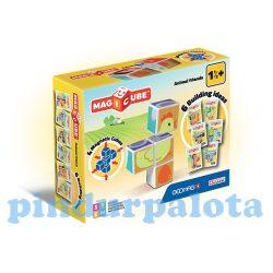 Építőjátékok gyerekeknek - Magic Cube építő állatok mágneses kockajáték