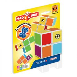Építőjátékok gyerekeknek - Geomag Magicube mágneses építőkocka - kezdő csomag