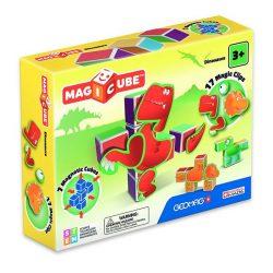 Építőjátékok gyerekeknek - Magic Cube építő dinós mágneses kockajáték