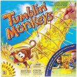 Társasjátékok gyerekeknek - Mattel Bukfencező Majmok