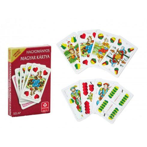 Klasszikus kártyapaklik - Magyar kártya hagyományos limitált kiadás - Cartamundi kártyalapok