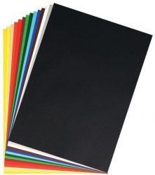 Írószerek - Iskolaszerek - Papírok-kartonok - Barkácskarton sárga 50 x 70