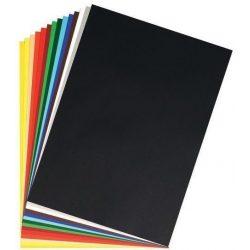Írószerek - Iskolaszerek - Papírok-kartonok - Barkácskarton-fekete 50x70