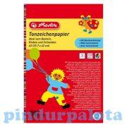 Írószerek-iskolaszerek - Papírok kartonok - Barkácskarton 10 ív A3