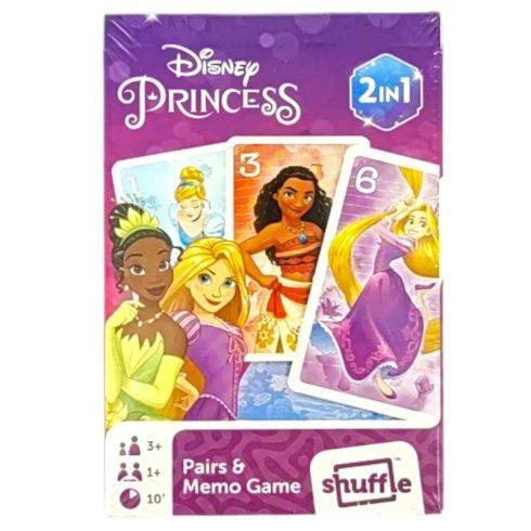 Mesekártyák - Disney Hercegnők Fekete Péter és memória kártyajáték - Cartamundi