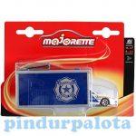 Járművek - Garázsok, autópályák - Majorette SOS Garage 9 cm rendőrautóval