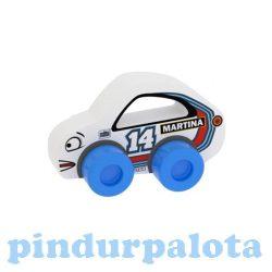 Bébi autó Milla Minis Racing Buddies Martina 14 fehér