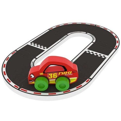 Milla Minis - Építőjátékok - Szivacs Puzzle - Első játékaim - Bébi autó Milla Minis Racing Buddies V