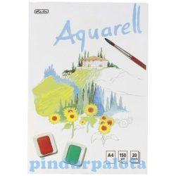 Papíráruk - Akvarell rajzfüzet A4-es méretben