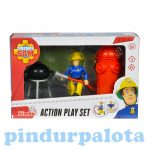 Sam a tűzoltós játékok - Sam a tűzoltó játékok Action Play Set Simba Toys
