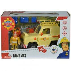 Sam a tűzoltós játékok - Sam a tűzoltó játékok Tom terpjáró autója Simba Toys