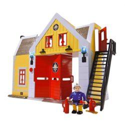 Sam a tűzoltós játékok - Sam a tűzoltó állomás figurával