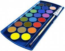 Írószerek - Iskolaszerek - Festékek - Vízfesték 21 szín