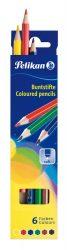 Írószerek - Iskolaszerek - Íróeszközök - Pelikán színes ceruza 6