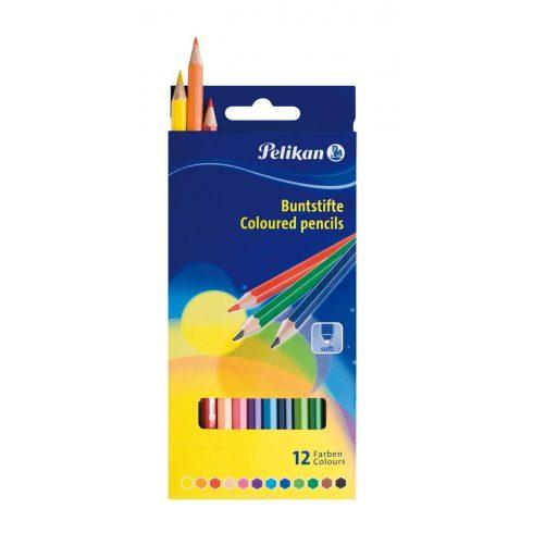 Írószerek - Iskolaszerek - Íróeszközök - Pelikán színes ceruza 12