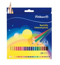 Írószerek - Iskolaszerek - Íróeszközök - Pelikán színes ceruza 24