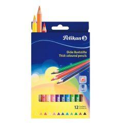 Írószerek - Iskolaszerek - Íróeszközök - 12 színű Trio színesceruza
