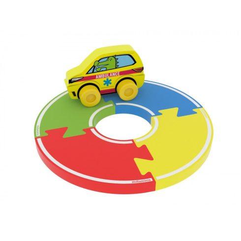 Mini autópálya 5 db-os Milla Minis