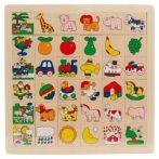 Puzzle kirakók - Fa képkereső zsiráfos