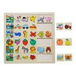 Puzzle - Kirakó - Fa ügyességi játék - Képkereső kutyás