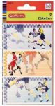 Herlitz Iskolai etikett/9 foci vinyetta
