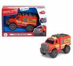 Műanyag járművek - Dickie tűzoltó furgon hanggal és fénnyel