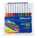 Íróeszközök - Pelikan Colorella Star C302-es filctoll/12 szín