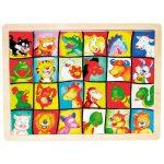 Fa puzzle- Cicás arckereső