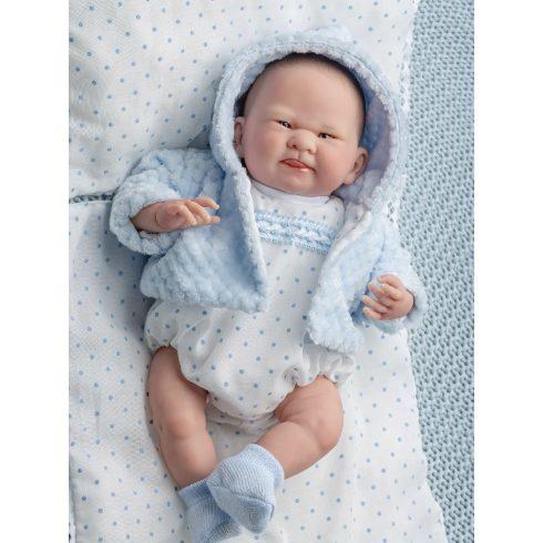 Élethű játékbabák - Limitált Reborn Berenguer újszülött, puhatestű játékbaba