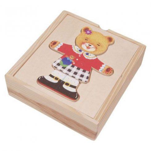 Öltöztető játékok - Maci lány