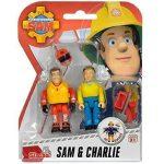 Sam a tűzoltó játékok - Sam és Charlie figura szett Simba