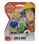 Sam a tűzoltós játékok - Sam és Norman akciófigura
