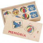 Memória játékok - Fa memória játék
