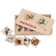 Memória játékok - Állatos fa memória játék