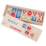 Társasjáték - Domino - Kresz