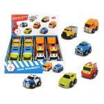 Műanyag járművek - Mini játék kisautók Squeezy 6 féle Dickie