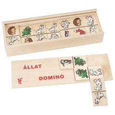 Társasjátékok gyerekeknek - Állatos dominó
