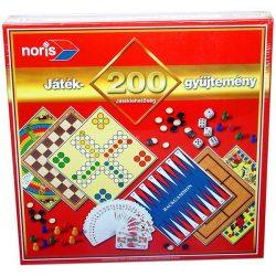 Társasjátékok - Családi társasjátékok - Játékgyűjtemény 200-as Noris
