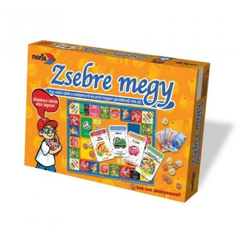 Fejlesztő játékok gyerekeknek - Zsebre megy Noris