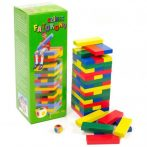 Készségfejlesztő - Ügyességi játék - Nagy színes Jenga