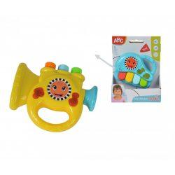 Zenélő bébijátékok - Ajándékok babáknak - ABC hangszer babáknak, 2 féle