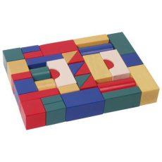 Építőkockák - 4 cm-es - színes