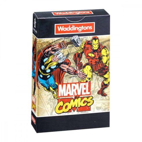 Klasszikus kártyapaklik - Marvel Comics Retro franciakártya - Waddingtons