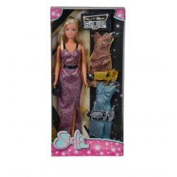 Műanyag babák - Steffi Love Játékbaba Glitter Style